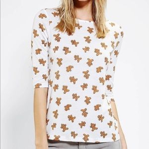 BDG Gingerbread graphic tee shirt top